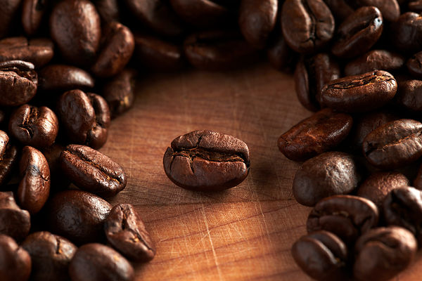Montreal advertising food photography, still life commercial photographer, coffee beans