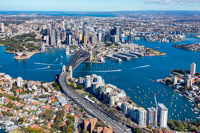 Milsons Point and Sydney CBD
