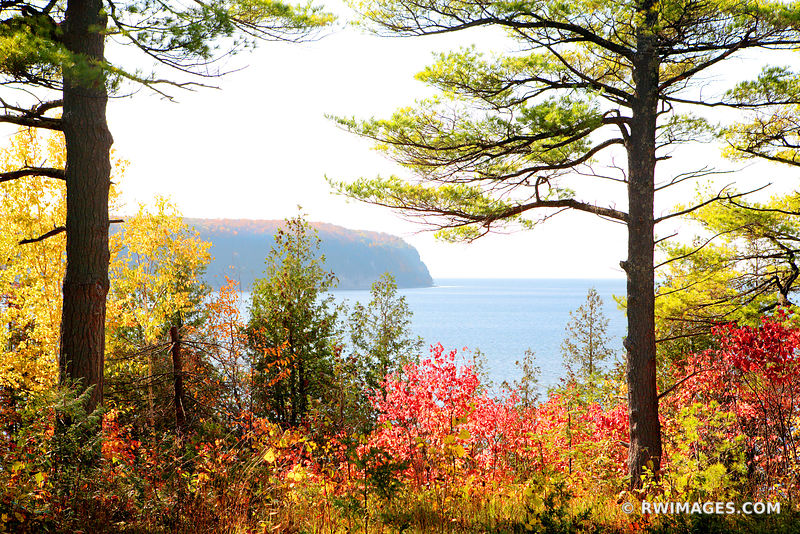 ELLISON BAY DOOR COUNTY WISCONSIN FALL COLORS