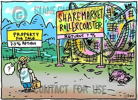 Property vs sharemarket