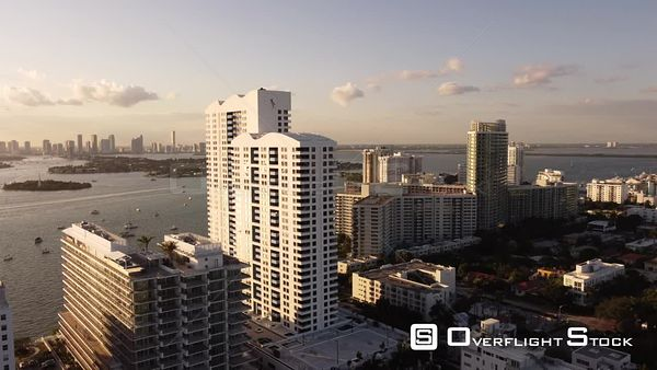 Aerial Video the Waverly South Beach Luxury Waterfront Condominium