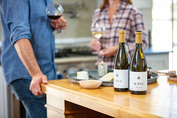 Wine and drink photography for Auteur Winery, Sonoma, California. Wine photos by Jason Tinacci