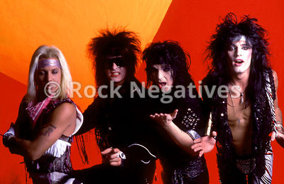 Motley Crue Portrait Session