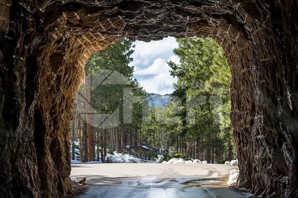 CC Gideon Tunnel in Black Hills National Forest, South Dakota