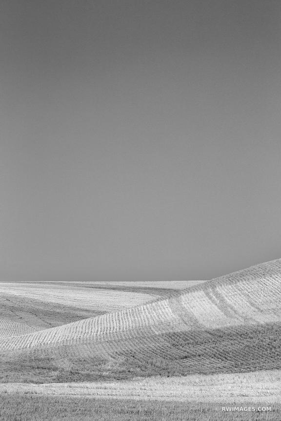 PALOUSE WASHINGTON BLACK AND WHITE VERTICAL