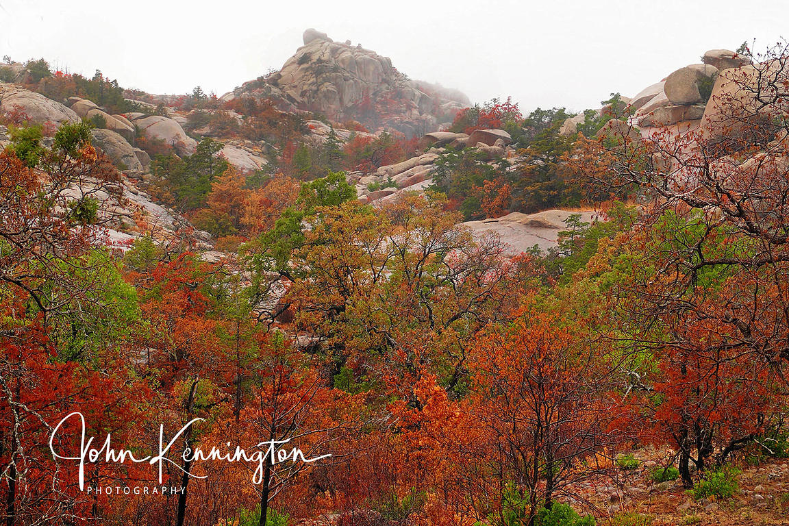 Wichita Mountains Color, Wichita Mountains National Wildlife Refuge, Oklahoma