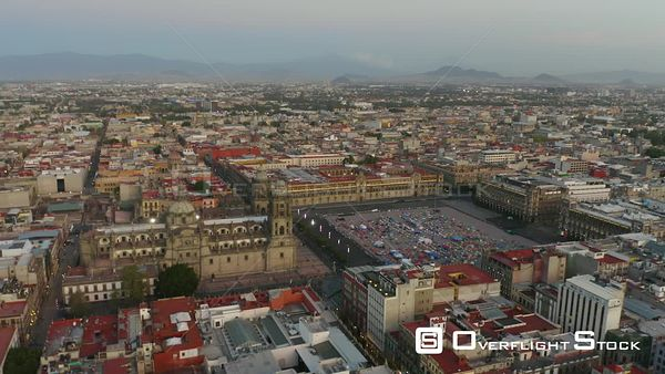 Mexico City Drone Aerial View