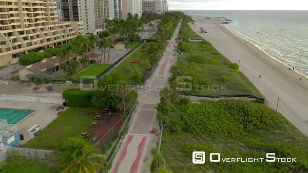 New Miami Beach boardwalk Atlantic Greenway 4k