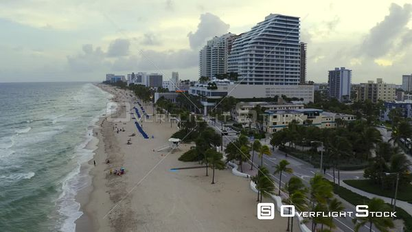 Tourists Returning to Fort Lauderdale Beach During Phase 3 Reopening Covid 19 Coronavirus Pandemic