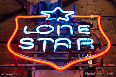 Lone Star Beer Sign
