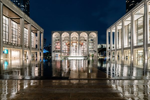 NYC_Lincoln_Center_at_Night_with_Rain