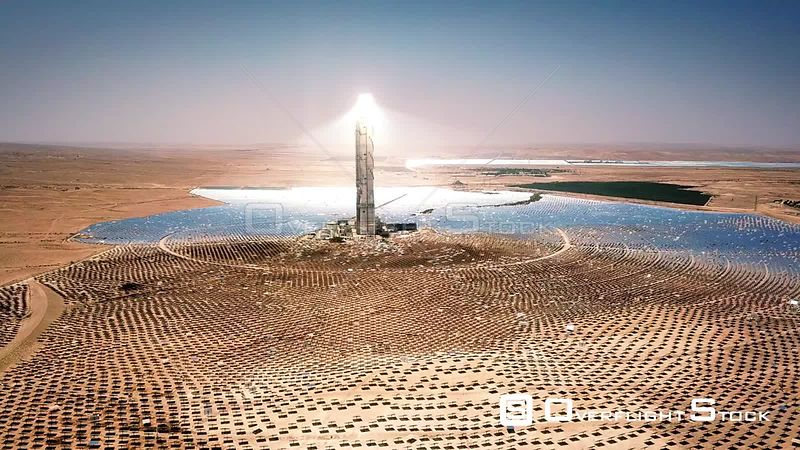 Solar Tower Negev Israel