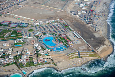 Seaside Resorts and Beaches Capital City Lima Peru