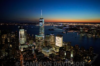 Aerial Freedom Tower