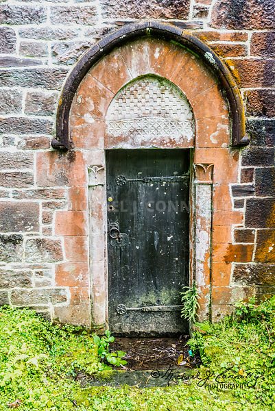 Door, St. Mary Church- Betws-y-Coed, Wales
