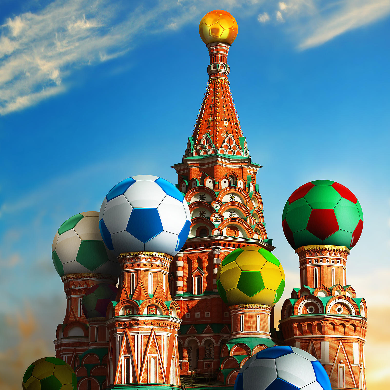 The 2018 FIFA Football World Cup in Russia.