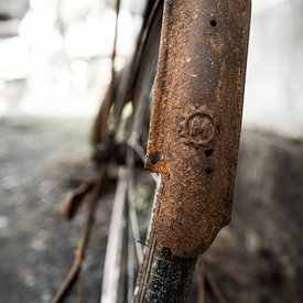 The old bicycle of Mascetti