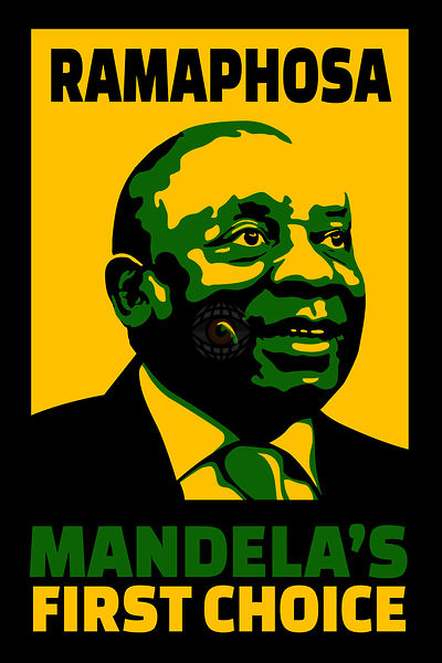 First Choice by Mandela, Ramaphosa.to Succeed Him as Head of ANC.