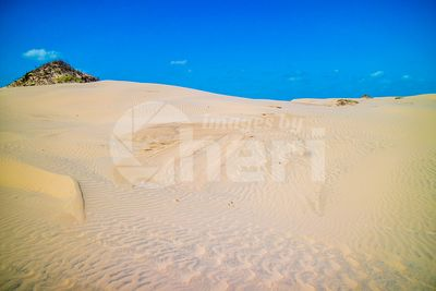 A very soft fine sandy beach in South Padre Island, Texas
