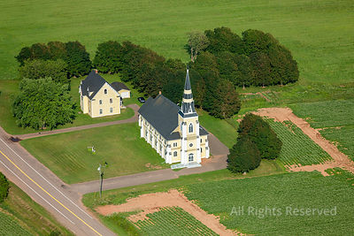 Country Church  Prince Edward Island Canada