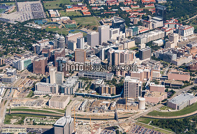 Aerial photo of Texas Medical Center