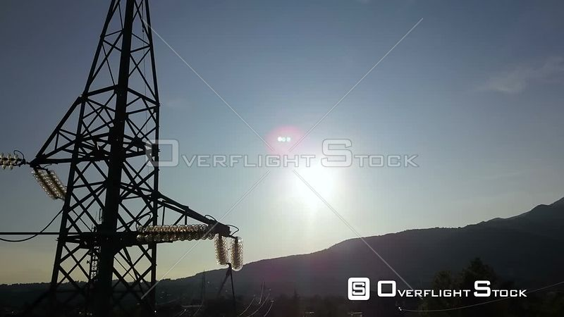 Electrical Substation in Northern Italy