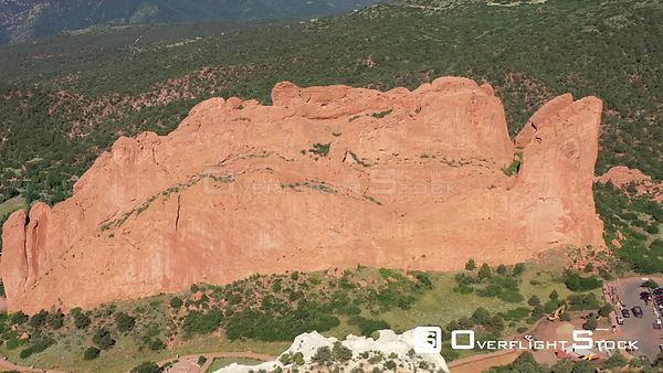 Three main formations of Garden of the Gods, Colorado Springs, Colorado, USA