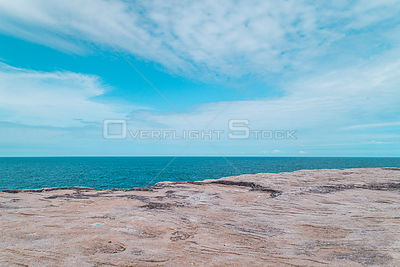 Stylized Long Exposure Drone Photo of Cape Solander Australia
