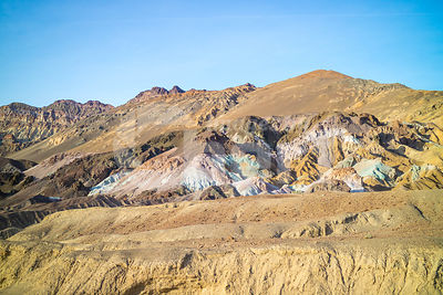 A Palette of Colored Rocks in Death Valley National Park