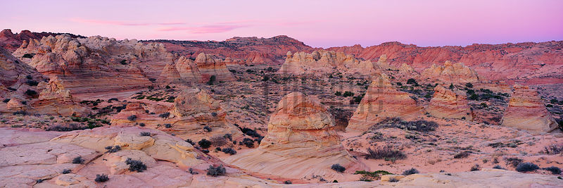 Sandstone Formations at Coyote Buttes South