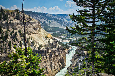 Yellowstone River Canyon #2