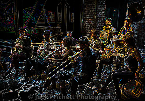 New Orleans Jazz Light