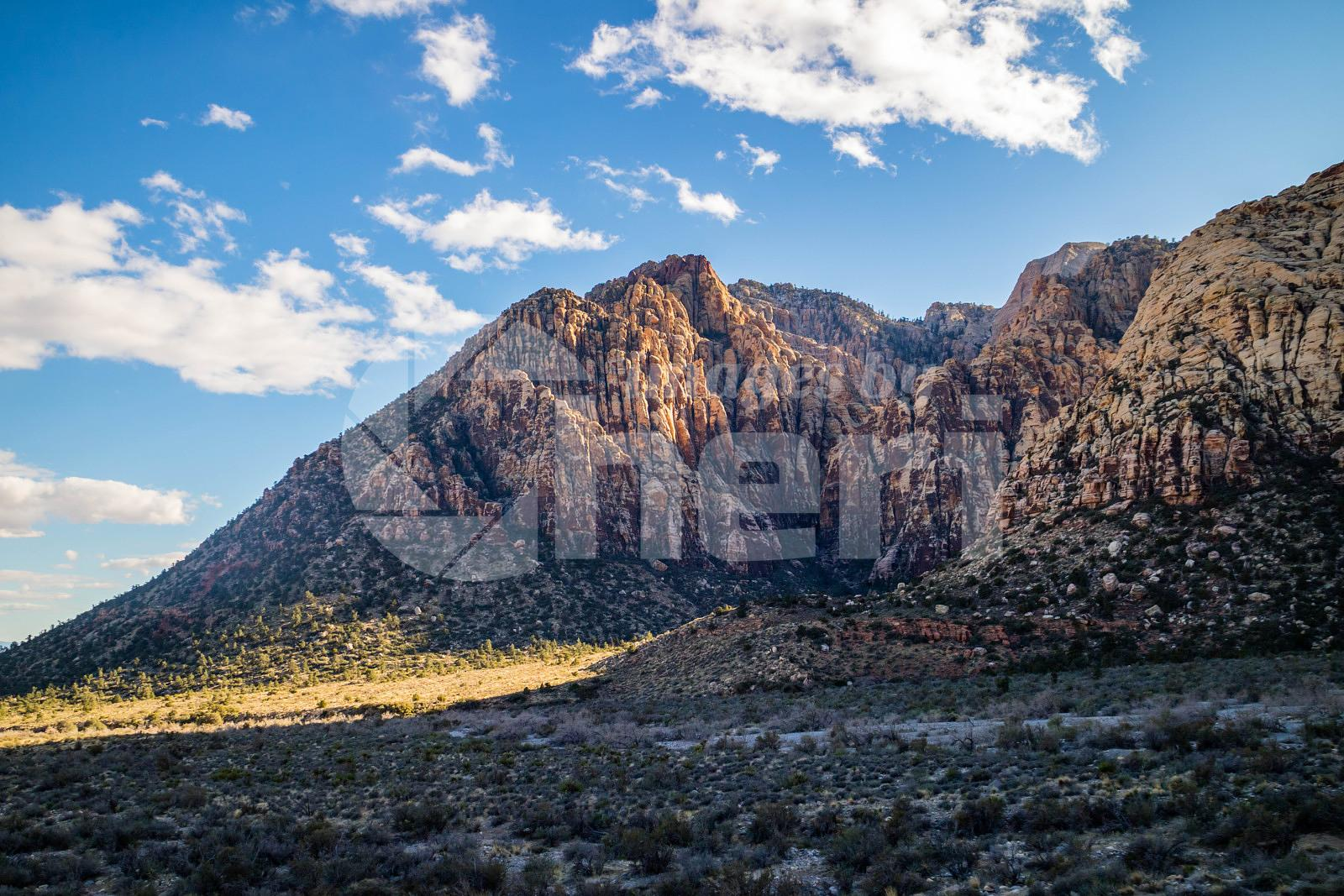 Mountain Ridges in Red Rock Canyon Conservation Area, Nevada