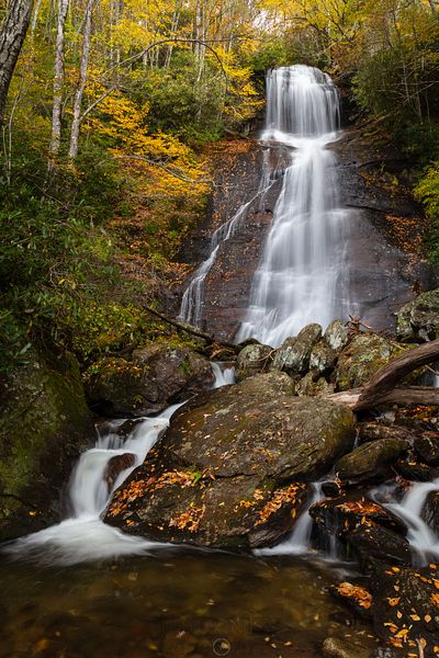 Dill Falls in Autumn