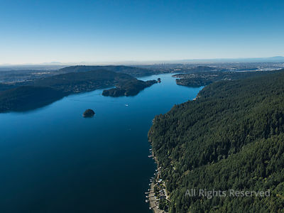 Indian Arm and Balcarra and North Vancouver BC