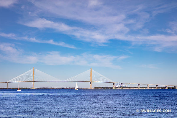 ARTHUR RAVENEL JR. BRIDGE COOPER RIVER CHARLESTON SOUTH CAROLINA