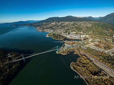 Lions Gate Bridge and North Shore
