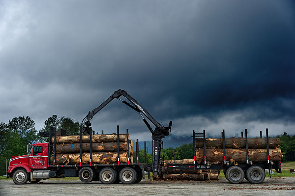 Montreal Editorial Photographer, forestry equipment Vermont, Trapp Family Lodge