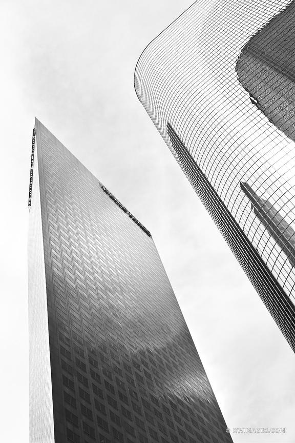 DOWNTOWN LOS ANGELES CALIFORNIA ARCHITECTURE BLACK AND WHITE VERTICAL