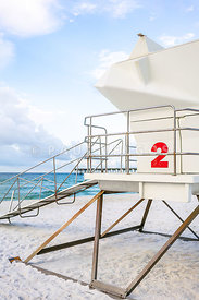 Lifeguard Tower 2 Pensacola Beach Florida Photo