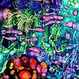 Qualia's Reef Stained Glass Detail