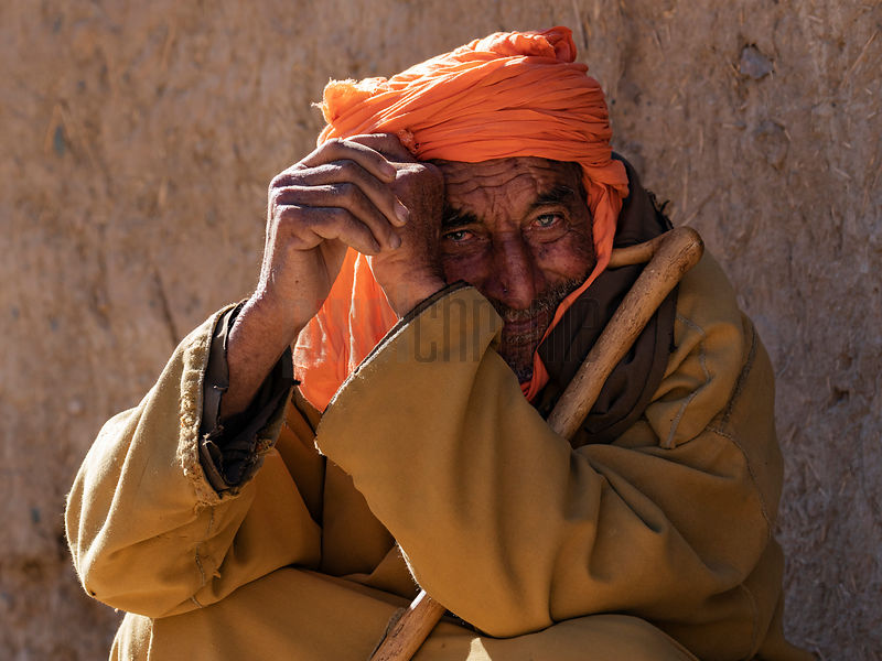 Portrait of a Berber Man