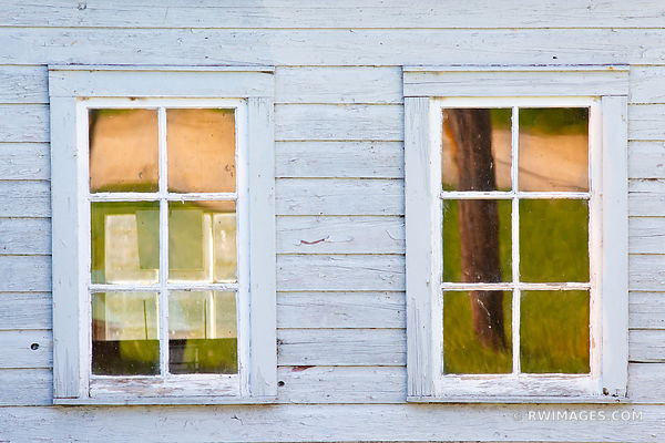 WINDOWS OLD FISHING VILLAGE WASHINGTON ISLAND DOOR COUNTY WISCONSIN COLOR