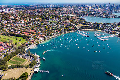 Rose Bay and Bellevue Hill