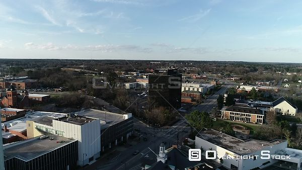 Drone Video Downtown Fayetteville North Carolina