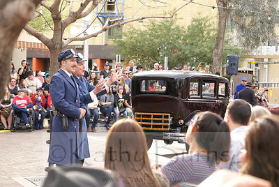82nd Anniversary Dillinger Gang Capture Reenactment, Tucson, USA