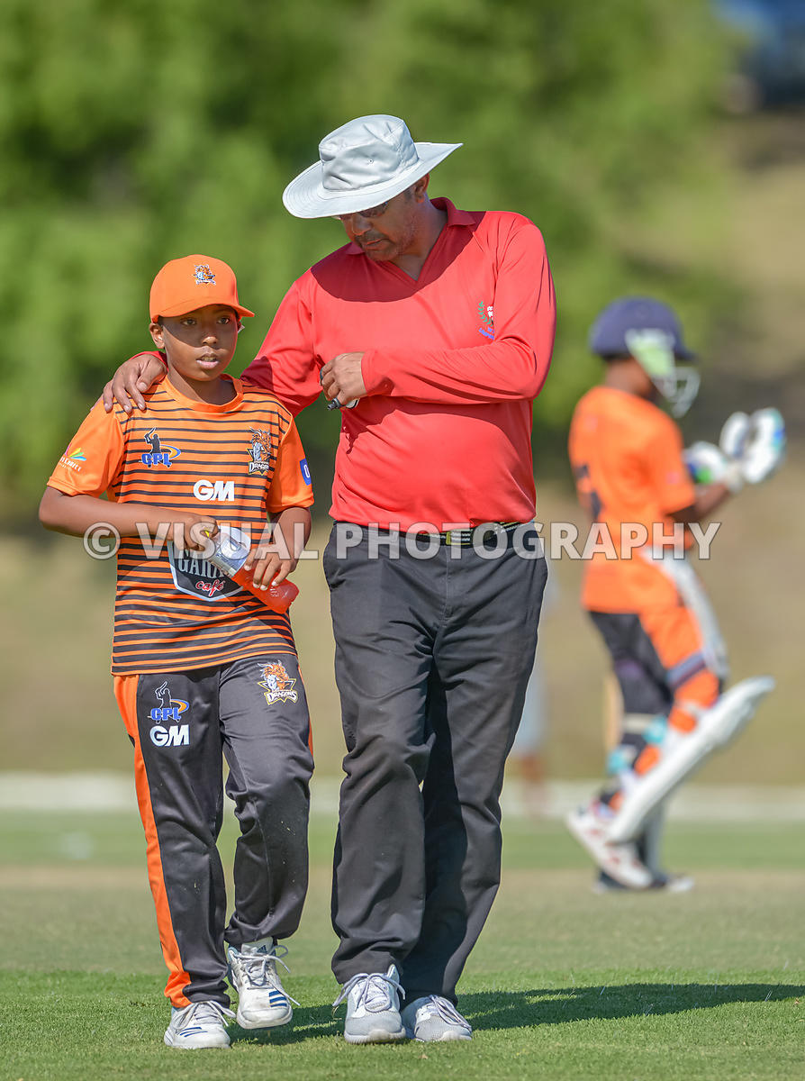 Under 13 - Vikings - Vs - Dragons - Durbanville Cricket Club .