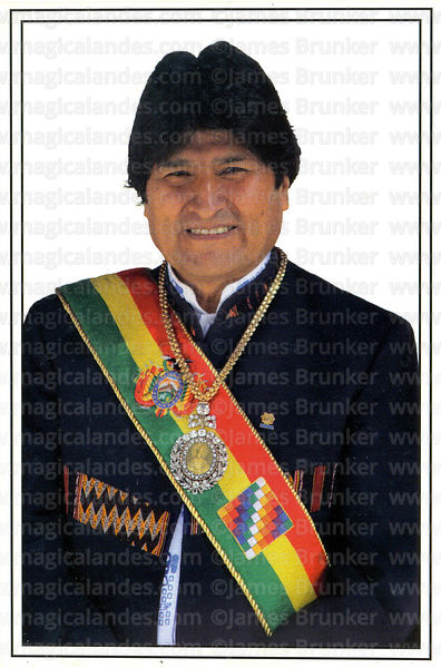 #253 Juan Evo Morales Ayma, President of the Plurinational State of Bolivia