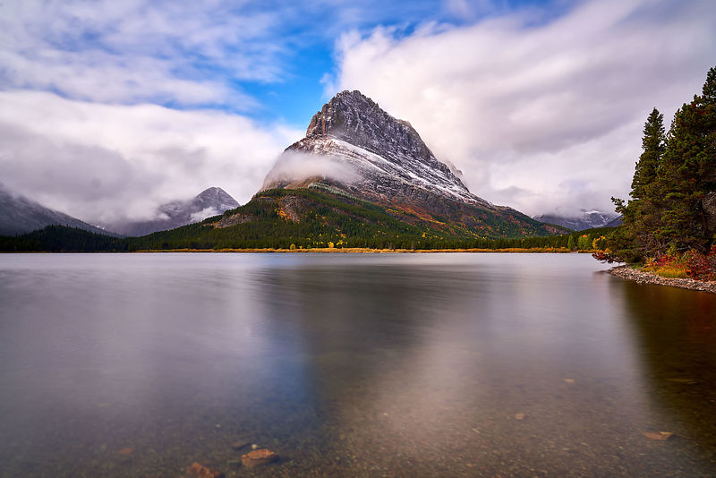 Swiftcurrent Lake Fall