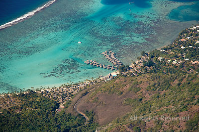 Seaside Resort on Moorea Island French Polynesia